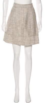 L'Agence Tweed Mini Skirt