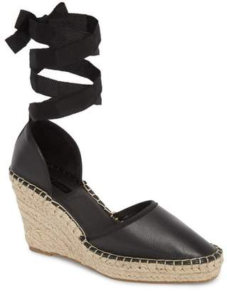 Topshop Williams Wraparound Espadrille Wedge
