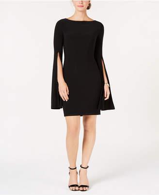 Tommy Hilfiger Split-Sleeve A-Line Dress