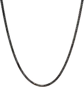 "Italian Silver 24"" Diamond Cut Snake Chain Necklace Sterling, 12.7g"