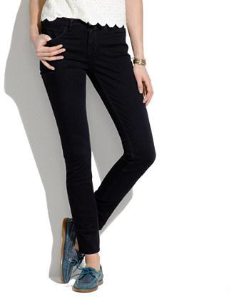 Skinny Skinny Ankle Jeans in Black Frost Wash