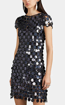 Paco Rabanne Women's Paillette Dress - Blue