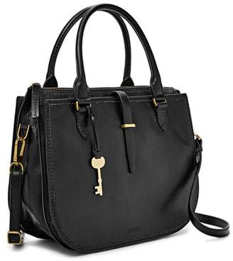 Fossil Ryder Satchel Handbags Black