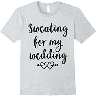 Bride Workout Shirt - Unique Bride Gift - Engaged Shirt