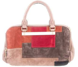 Marc by Marc Jacobs Suede Patchwork Handle Bag