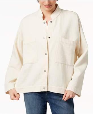 Eileen Fisher Organic Cotton Oversized Jacket, Regular & Petite