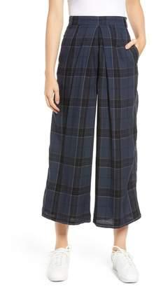 Obey Silverlake Wide Leg Crop Pants