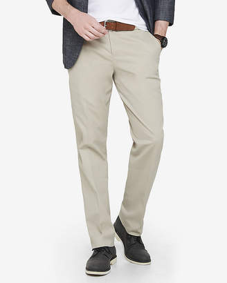 Express Slim Stretch Cotton Dress Pant