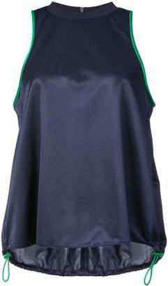 Tibi sleeveless drawstring top