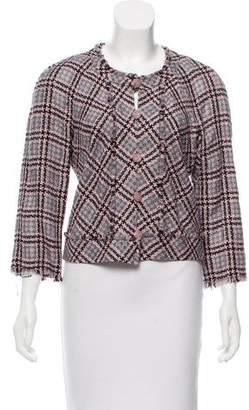 Chanel Cropped Tweed Jacket