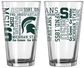 NCAA Boelter Brands 16 Oz. Pint Glass Team: Michigan State Spartans