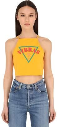 GUESS X J Balvin Vibras Collection SL VIBRAS COTTON BLEND TANK TOP