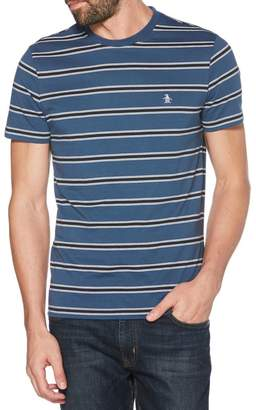 Original Penguin Rugby Stripe Short-Sleeve Cotton Tee