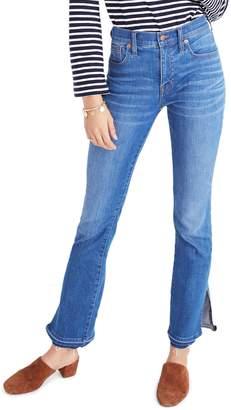 Madewell Cali Split Hem Demi Boot Jeans