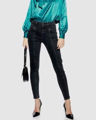 Topshop Panel Jamie Jeans