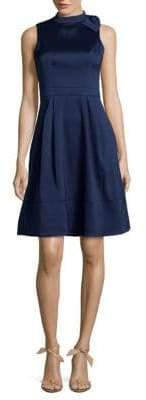 Julia Jordan Sleeveless Fit-&-Flare Dress