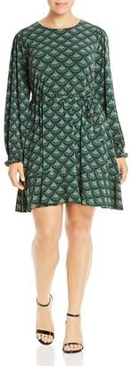 MICHAEL Michael Kors Chandler Fan Print Dress