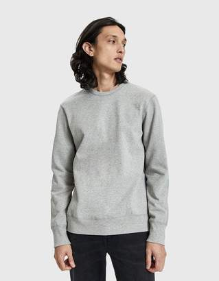 Reigning Champ Heavyweight Terry Crewneck Sweatshirt in Heather Grey