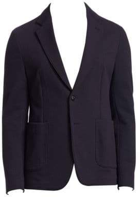 Emporio Armani Texture Soft Sports Jacket