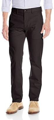 Kenneth Cole Reaction Men's Twill Flat-Front Pant
