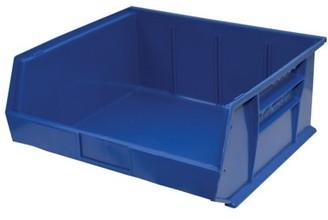 """StorageMax Storage Max Case of Stackable Blue Bins, 14"""" x 16"""" x 7"""" (6 bins)"""