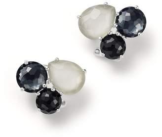 Ippolita Sterling Silver Rock Candy® Cluster Stud Earrings in Black Tie