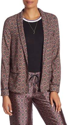 Scotch & Soda Printed Relaxed Fit PJ Style Blazer