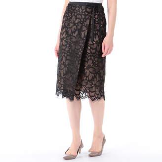 Aula (アウラ) - アウラ フラワースカラップスカート