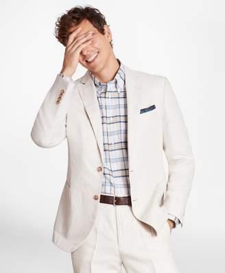 Brooks Brothers Regent Fit Cotton and Linen Sport Coat