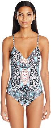 Seafolly Women's Wrap Front One Piece Swimsuit
