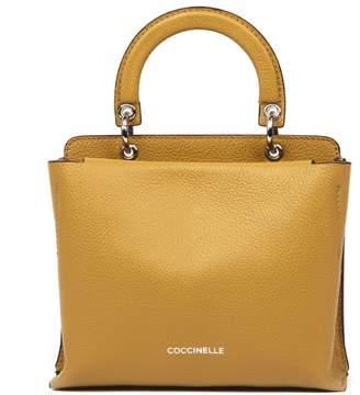 Coccinelle Camel Leather Handbag