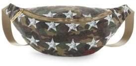 Peace Love World Camo Stars Belt Bag