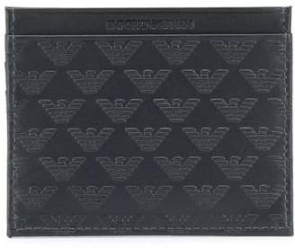 Emporio Armani Leather Credit Card Holder