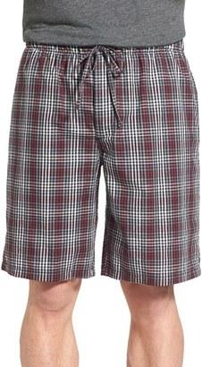 Men's Nordstrom Plaid Pajama Shorts $32.50 thestylecure.com