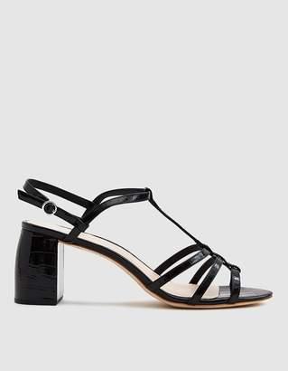 Loeffler Randall Elena Strappy Sandal in Black