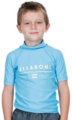 Billabong Toddler Boys All Day Unity Short Sleeve Rashie