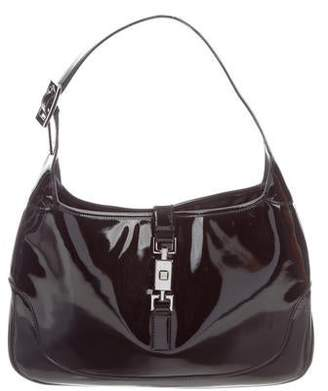 Gucci Patent Leather Jackie Bag