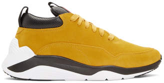 McQ Yellow Gishiki Hybrid Sneakers