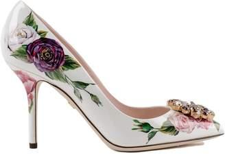 Dolce & Gabbana Printed Floral Pumps