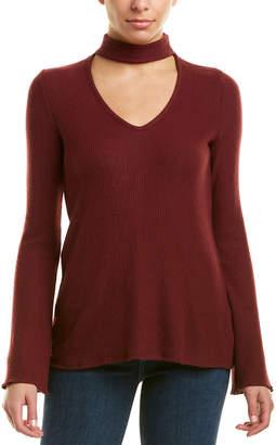 Three Dots Ribbed Sweater