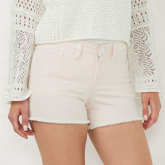Lauren Conrad Women's Feel Good Stretch Denim Midrise Shorts