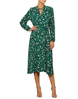 David Jones Soft Petal Crepe Dress