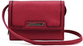 LIZ CLAIBORNE Liz Claiborne Candace Crossbody Wallet $45 thestylecure.com