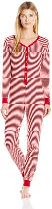 Burt's Bees Women's Candy Cane Holiday Suit