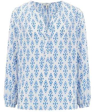 Joie Dimna Blouse in Baja Blue