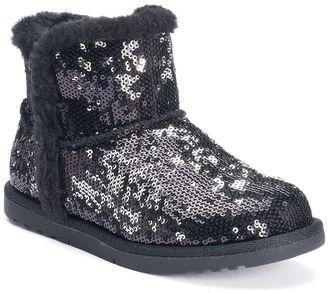 SONOMA Goods for LifeTM Girls' Sequin Ankle Boots $49.99 thestylecure.com