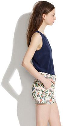Madewell Tailored Shorts in Garden Vine