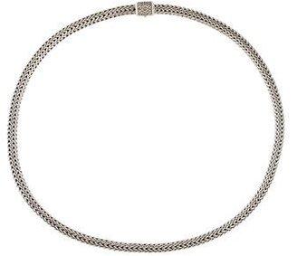 John Hardy Diamond Classic Chain Necklace $525 thestylecure.com