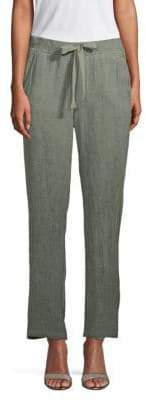 Saks Fifth Avenue Linen Drawstring Pants