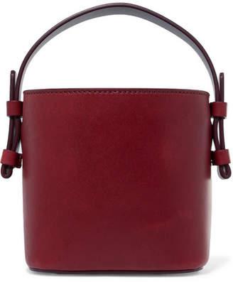 Nico Giani - Adenia Mini Leather Bucket Bag - Burgundy
